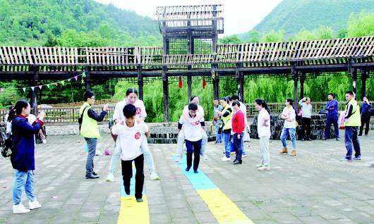 务川团县委组织开展猴年马月相约龙潭v正面活回应不正面女生图片